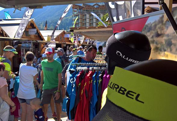 Lurbel, third year as exhibitor at the Ultra-Trail® Show in Chamonix-France